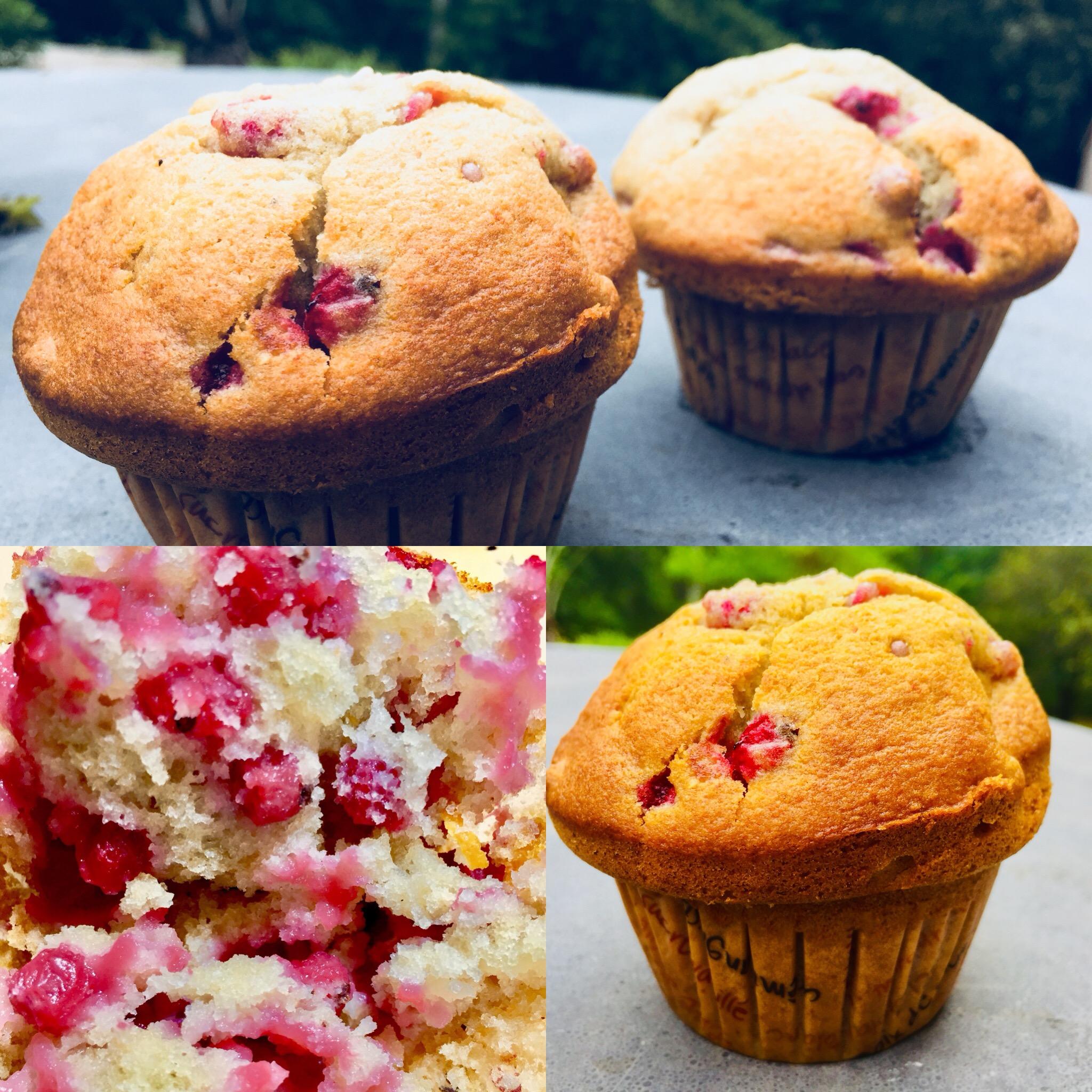 Muffin atomic groseilles