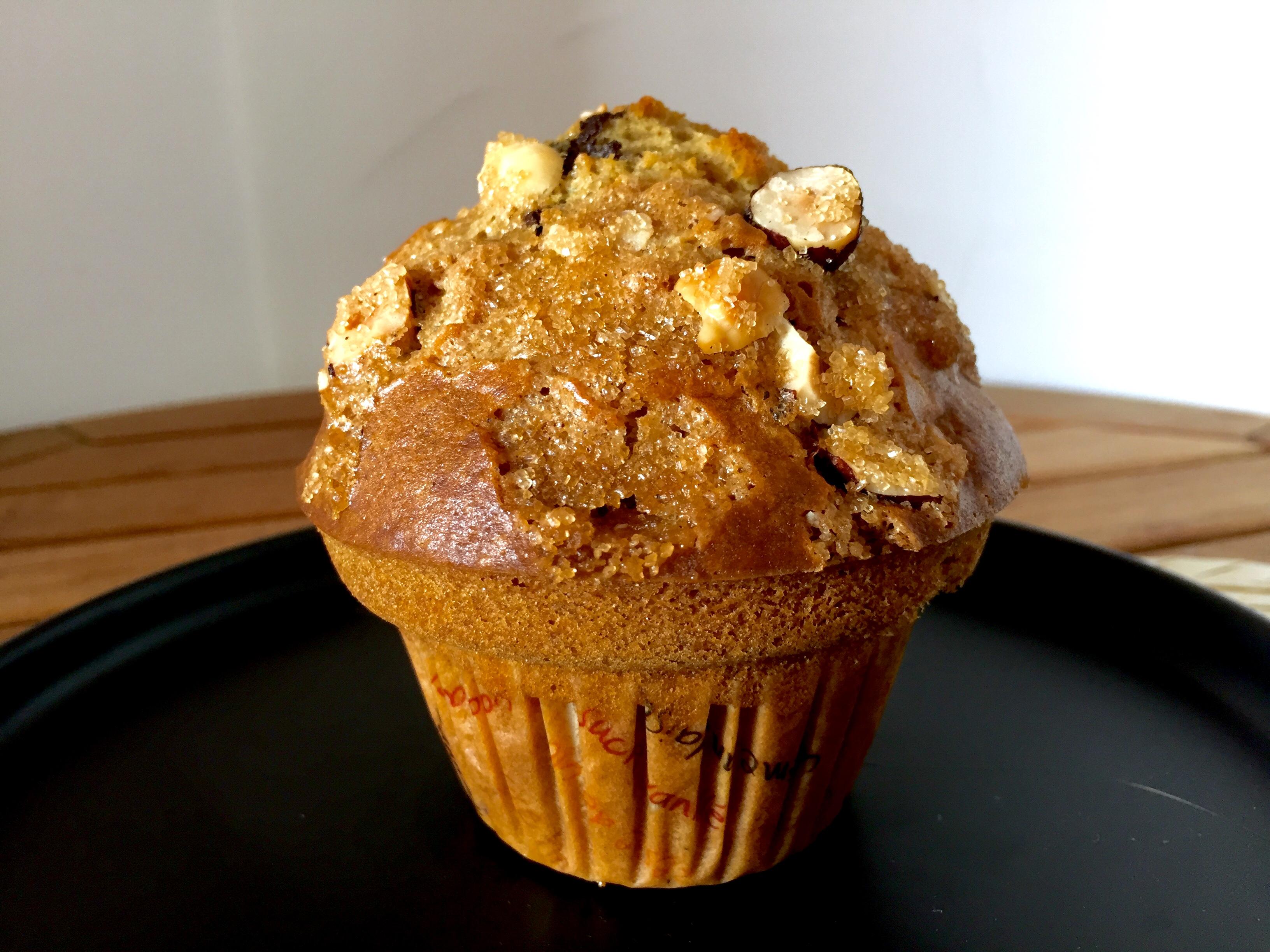 Muffin atomic noisette
