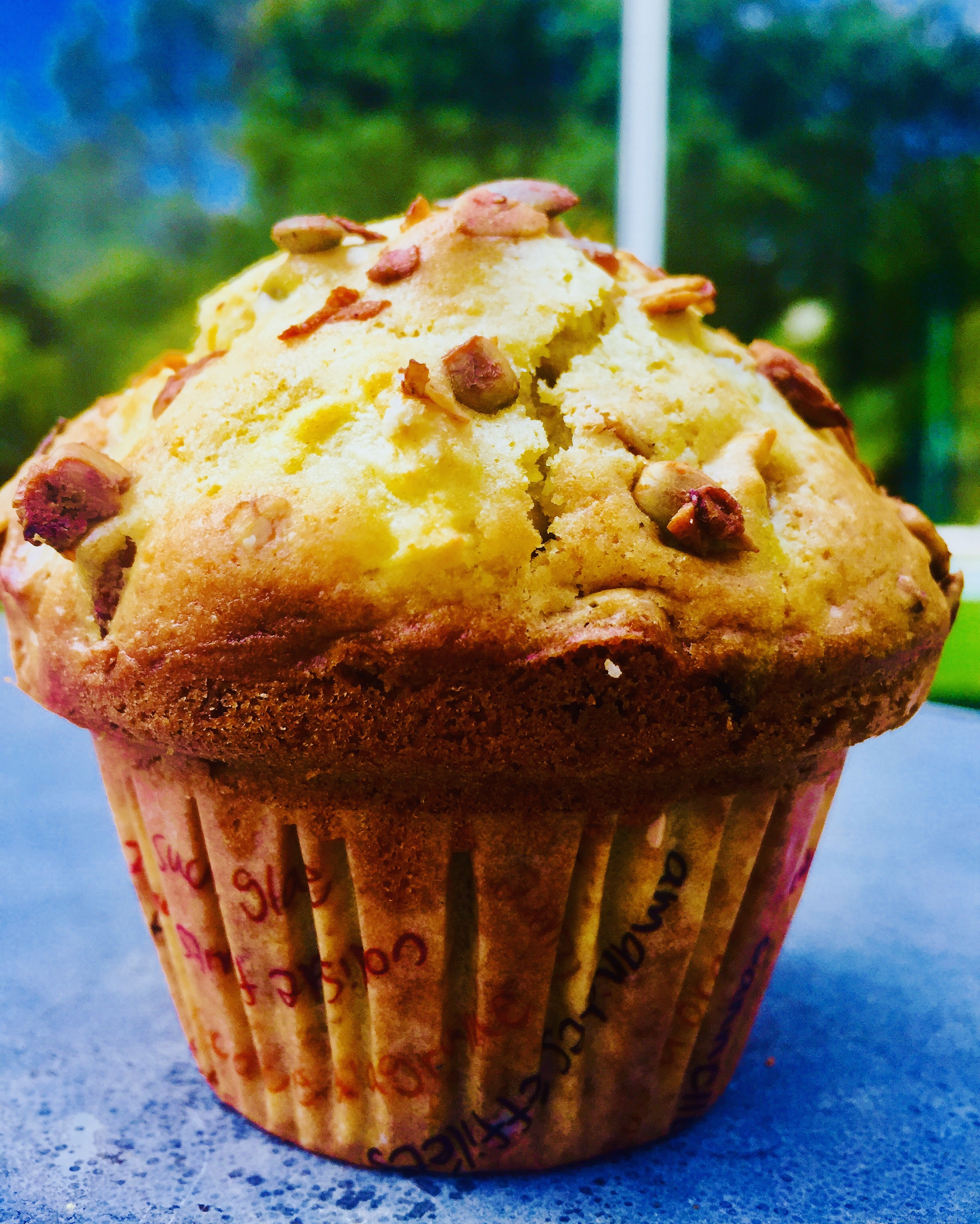 Muffin atomic aux noix