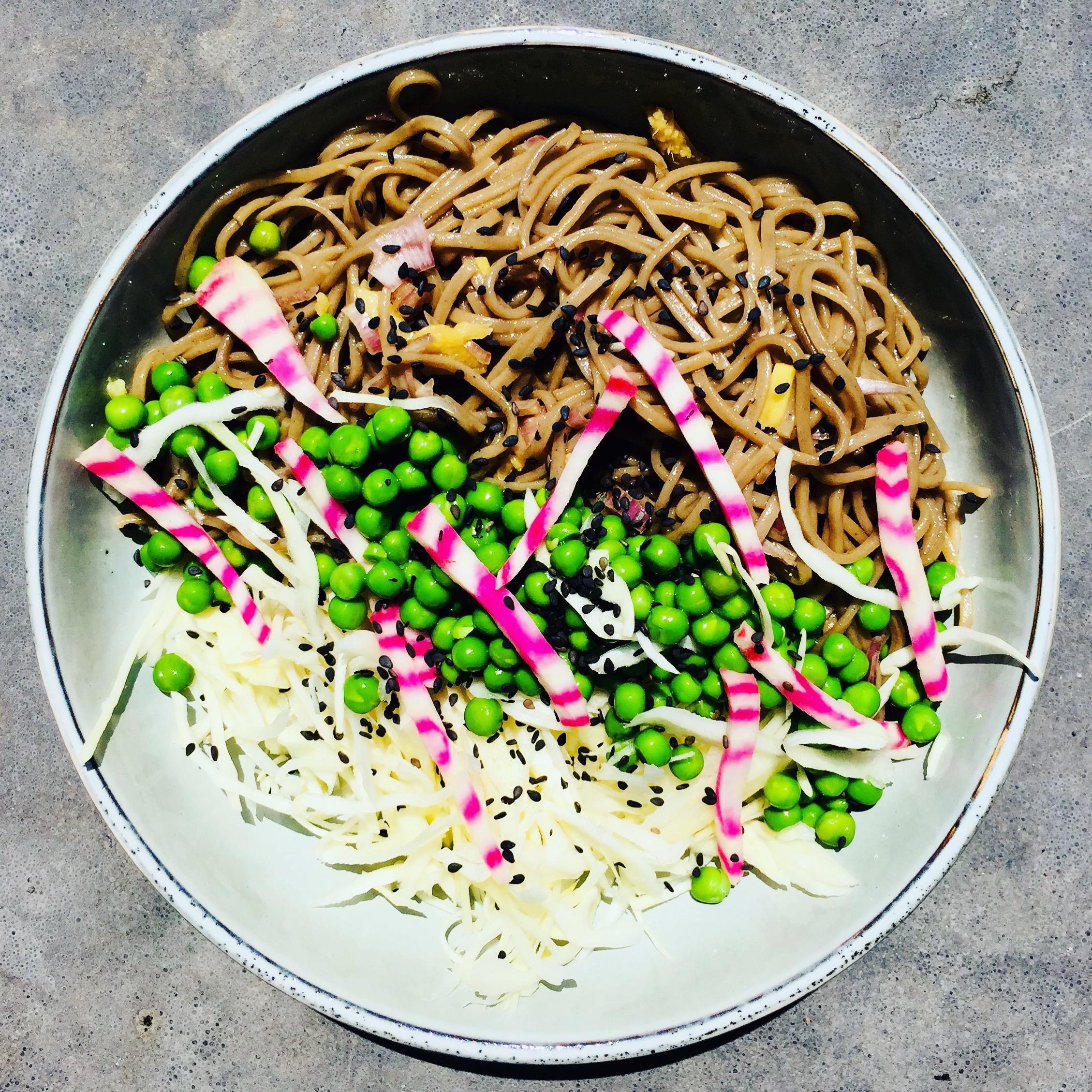 Salade asiatique soba